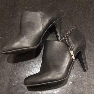Black Heeled Dress Boots